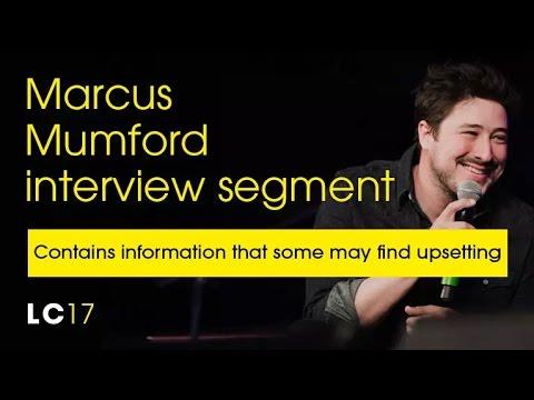 Marcus Mumford na Conferência de Liderança da HTB Church, de Londres