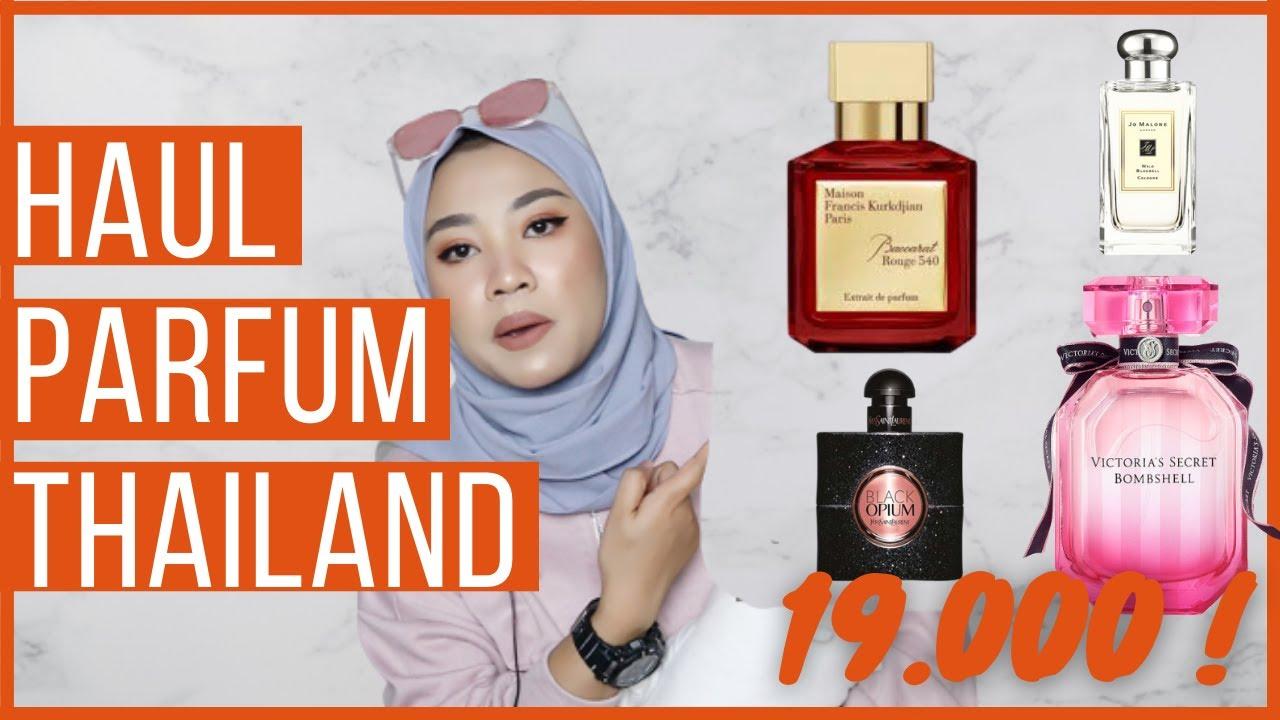 HAUL PARFUM THAILAND TERLARIS DI LAZADA  | TYAS PRADA