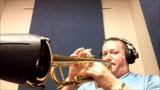 Arban Characteristic Etude #13 for Trumpet m.m. 96, alternate fingerings included! | Kurt Thompson