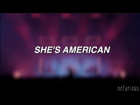 She's American - The 1975 | Lyrics
