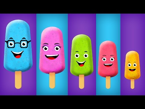 The Finger Family Ice Cream Family Nursery Rhyme | Ice Cream Finger Family Songs