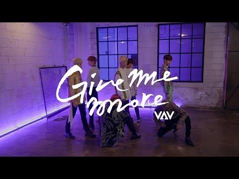 [스페셜] VAV - Give Me More (Feat. De La Ghetto & Play-N-Skillz) 안무영상