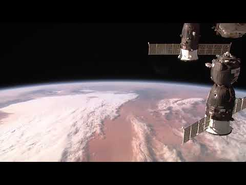 Over Earth - Amazing Views from Space Station's External Camera