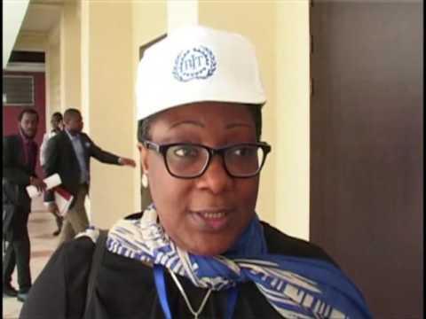 Aminata :Bureau pays du BIT Kinshasa