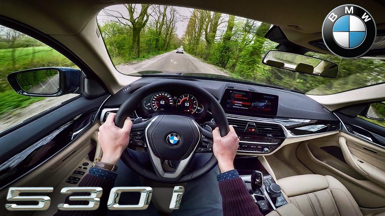 2017 BMW 5 Series G30 POV Test Drive 530i by AutoTopNL
