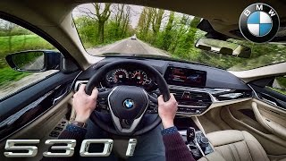 2017 BMW 5 Series G30 POV Test Drive 530i by AutoTopNL
