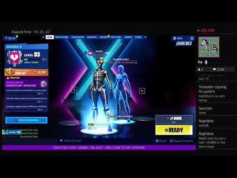 ||Fortnite Live! Girl PS4 Player - 600+ WINS! - SEASON 10 GRIND - ITEM SHOP COUNTDOWN||