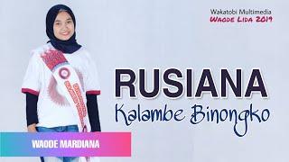 Download lagu RUSIANA  | Waode Mardiana Cover - Lagu Joget Wakatobi New Versi 2020