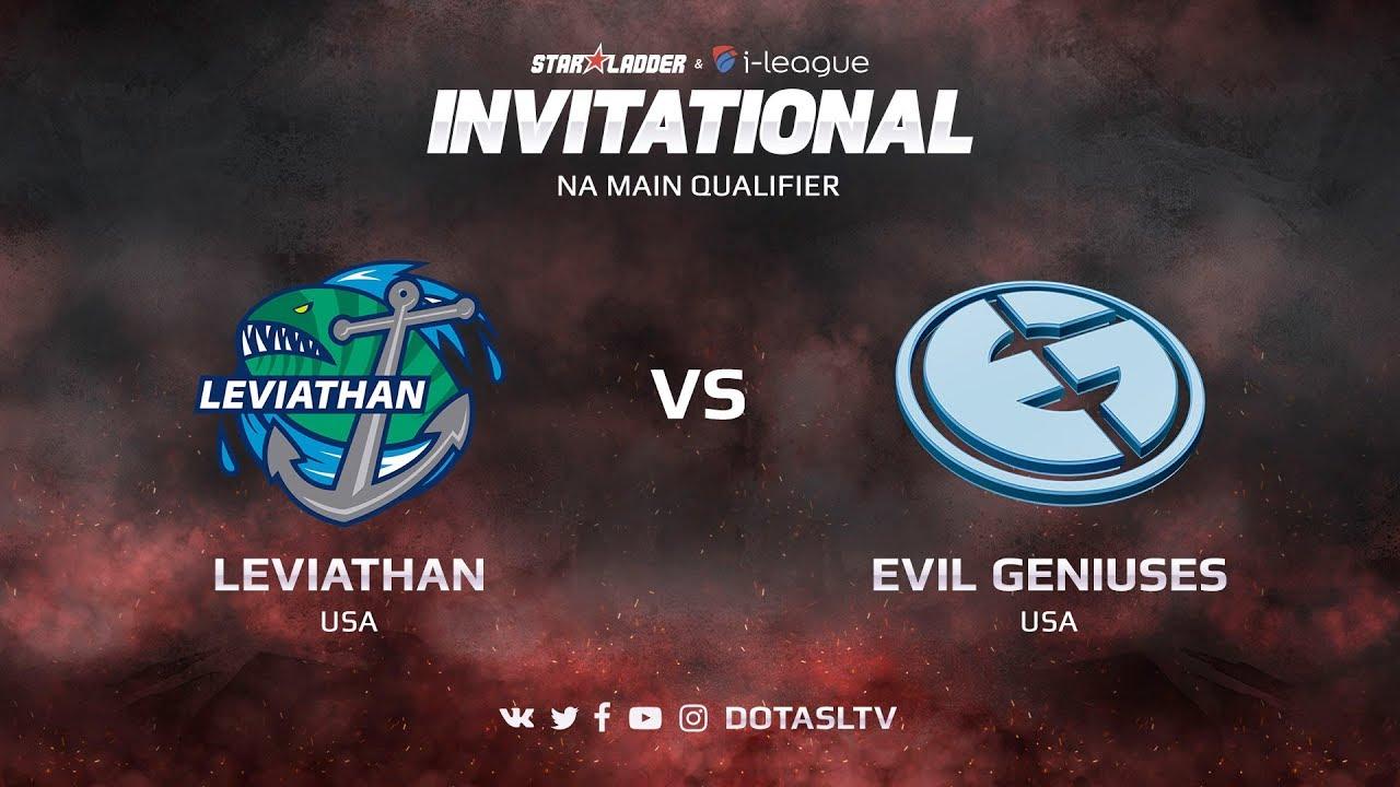 Leviathan против Evil Geniuses, Первая карта, NA квалификация SL i-League Invitational S3