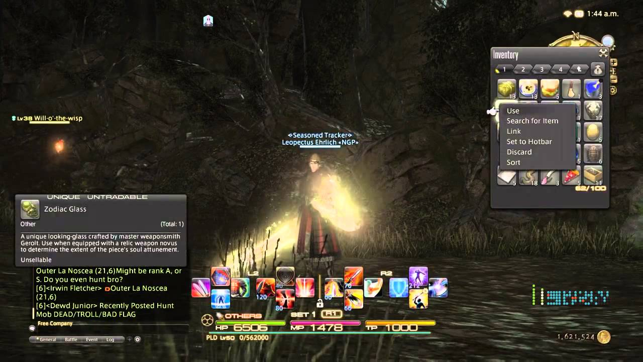 Final Fantasy XIV Relic Weapon Nexus Upgrade [[ FULLY EXPLAINED !!]]