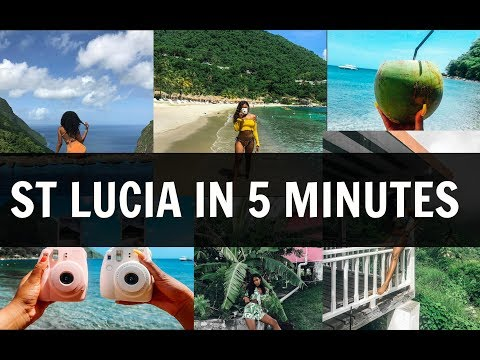 ST LUCIA IN 5 MINUTES | TRAVEL DIARY
