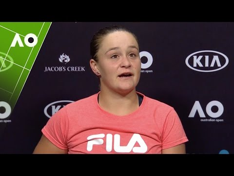 Ashleigh Barty press conference (3R) | Australian Open 2017