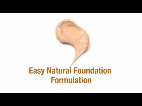 Easy Natural Foundation Formulation