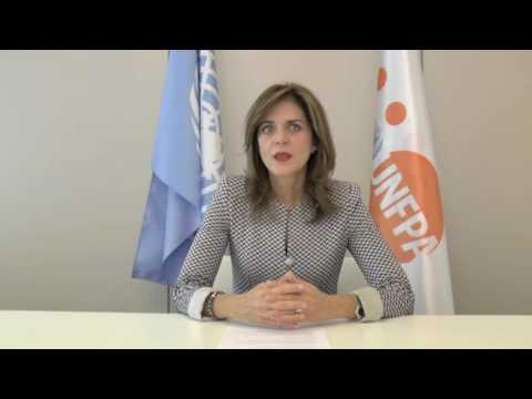 Welcome message of UNFPA EECA Regional Director Alanna Armitage for IAPPD meeting