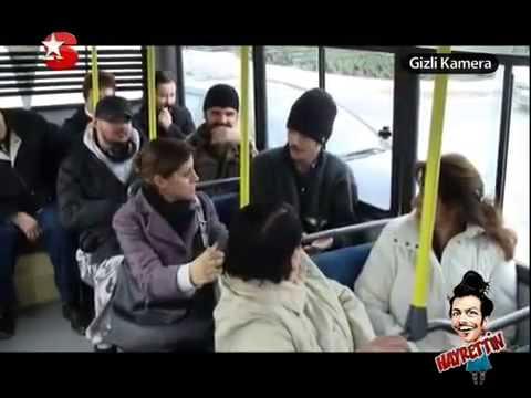 Aftobusda osturan xala (gülməli)