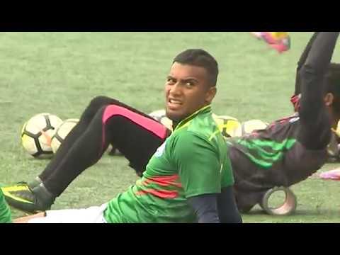 Bangladesh National Football Team Practice Before Saff Football (বাংলাদেশ জাতীয় ফুটবল দলের অনুশীলন)
