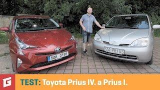 Toyota Prius IV a I - TEST - GARAZ.TV - Rasťo Chvála