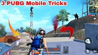 PUBG Mobile 3 New Awesome Tricks   No One Knows This Tricks   PUBG Mobile Latest Secret Trick