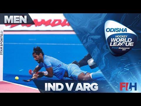India v Argentina - Odisha Men's Hockey World League Final - Bhubaneswar, India