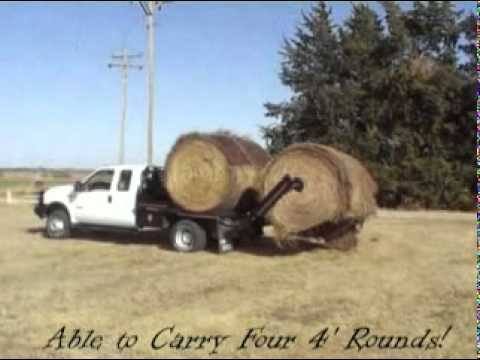 Cannonball Bale Bed Demo 3 Mpg