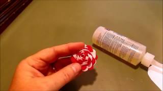 Rick Rack Rose / Flower Tutorial