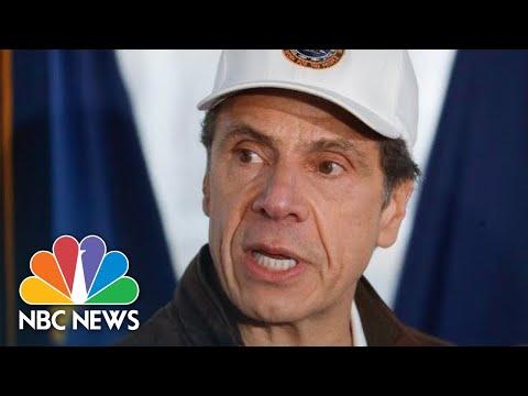 New York Governor Cuomo Holds Coronavirus Briefing | NBC News (Live Stream Recording)