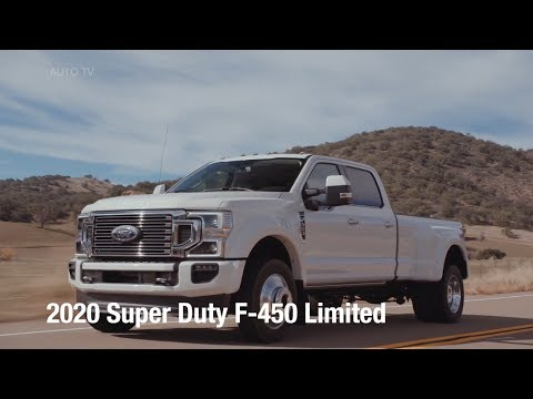 2020 Ford Super Duty F-450 Limited