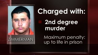 George Zimmerman charged with 2nd-degree murder