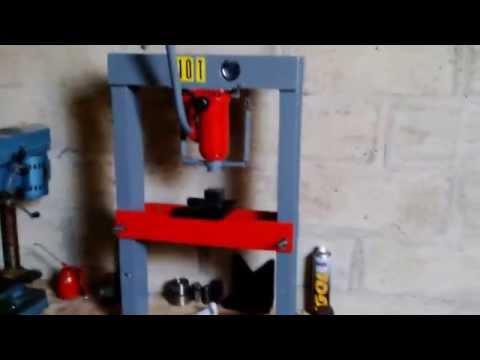 fabriquer une presse hydraulique pas chère (suite)