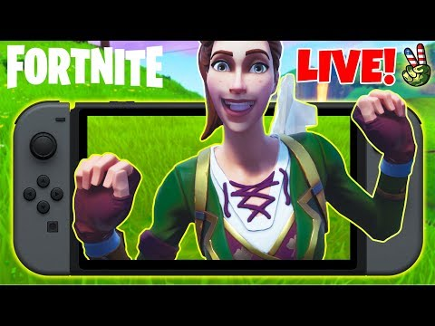 Pro Nintendo Switch Player! // HOW TO BE LUCKY 101!!! // (Fortnite Battle Royale LIVE) thumbnail