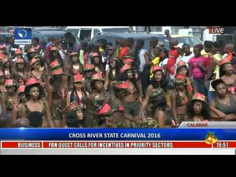 Cross River State Carnival 2016 Pt 1