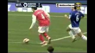 cesc fabregas  kick yourself dive
