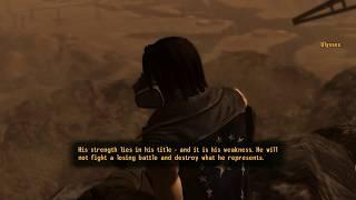 Fallout: New Vegas (PC) - Ulysses Talks About Legate Lanius and Joshua Graham