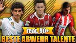 FIFA 18: BESTE VERTEIDIGUNG TALENTE OHNE TRAINING! 🏆 U21 IV / LV / RV 😱 | KARRIERE POTENZIAL