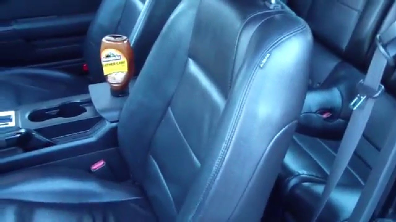 Shampoo Car Seats Diy