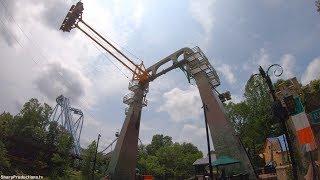 Finnegan's Flyer (4K On-Ride) Busch Gardens Williamsburg
