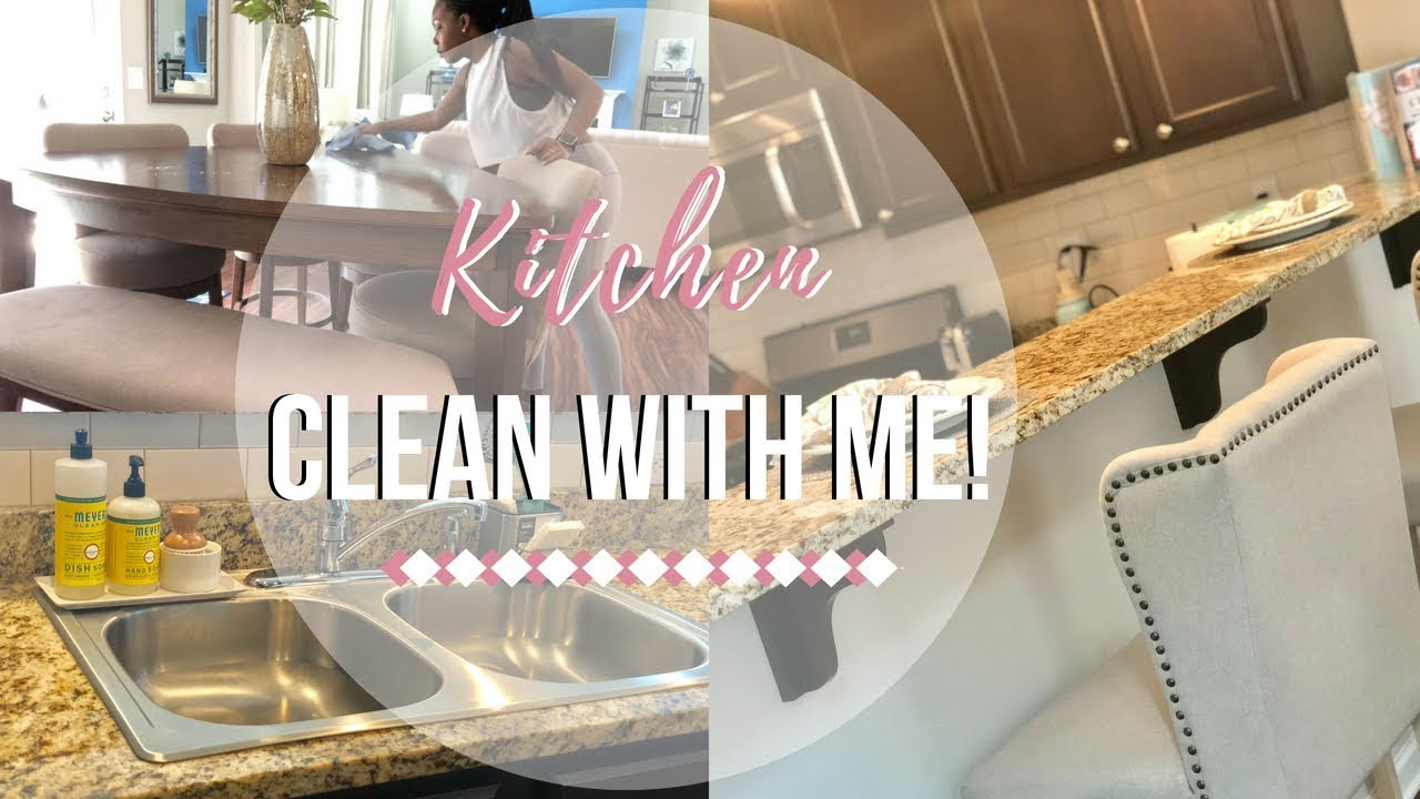 kitchen clean with me xo love lizz - Xo Kitchen