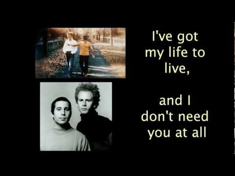 Red Rubber Ball ~ Simon and Garfunkel [Lyrics]
