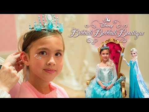 DISNEY PRINCESS MAKEOVER at Disney's Bibbidi Bobbidi Boutique!!! Hong Kong Disneyland