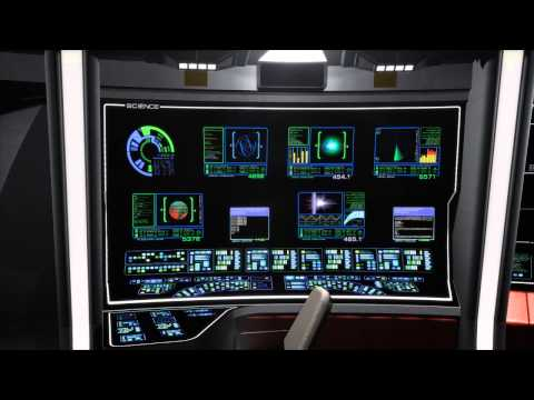 Science Screens on the Bridge - 23rd Century LCARS Animations