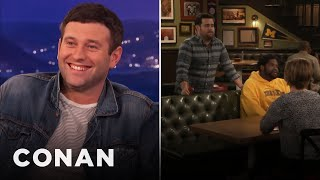 Brent Morin On Blowing His Cue Live On-Air  - CONAN on TBS