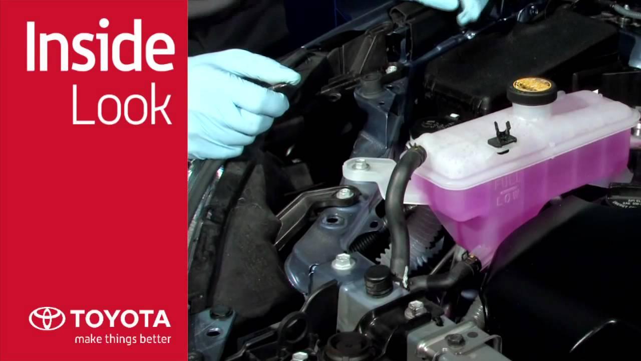 Toyota Engine Coolant Wiring Diagram D65 Komatsu Inside Look Genuine Long Life Youtubetoyota 4
