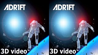 3D ADR1FT TV VR box video Side by Side SBS space google cardboard