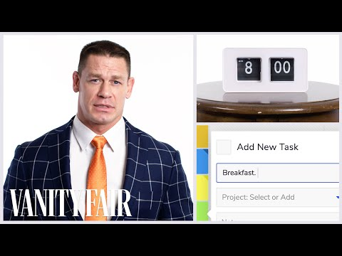 Everything John Cena Does in a Day  Vanity Fair