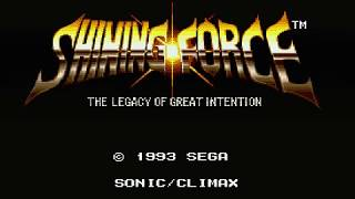 Sega Smash Pack Volume 1: Shining Force (gameplay) - Sega Dreamcast - VGDB