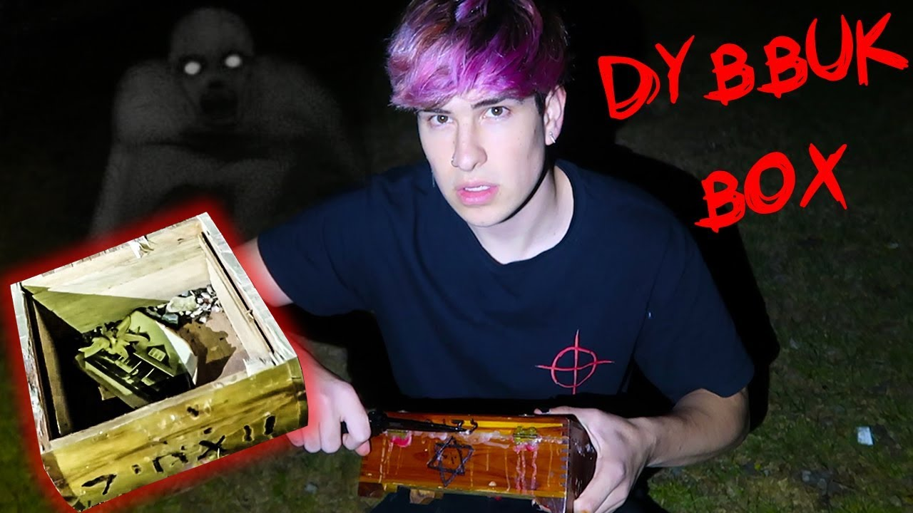 Opening A Demon In A Box Dybbuk Box Youtube