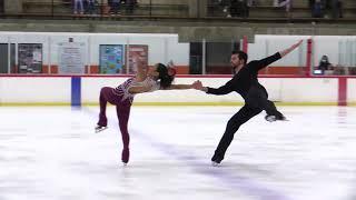 Jessica Calalang and Brian Johnson 2021 Glacier Falls Summer Classic SP