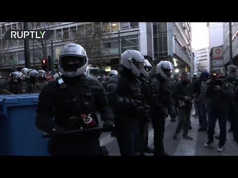 Athens scuffles | Greek police disperse demo in support of convicted far-left assassin