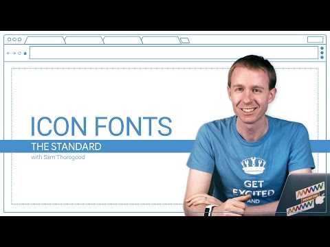 Icon Fonts (The Standard, Ep. 3)