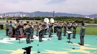 9/22 阪神競馬場 陸上自衛隊第3音楽隊生演奏(ザ・チャンピオン etc)